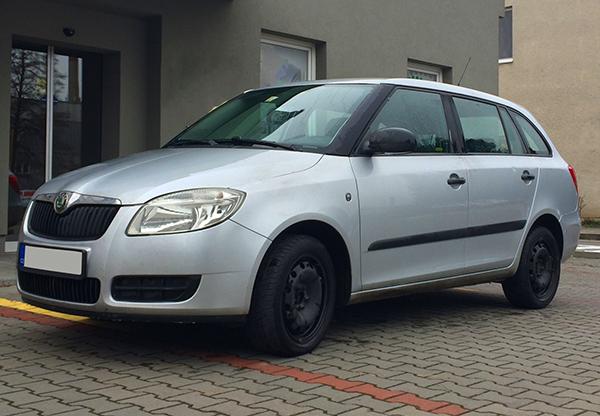 vůz Škoda Fabia autopůjčovny Proncar